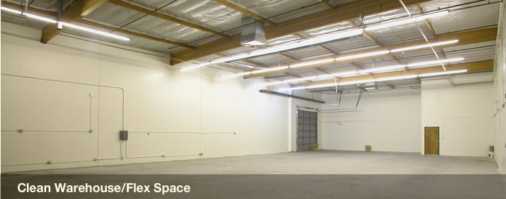 Clean warehouse space