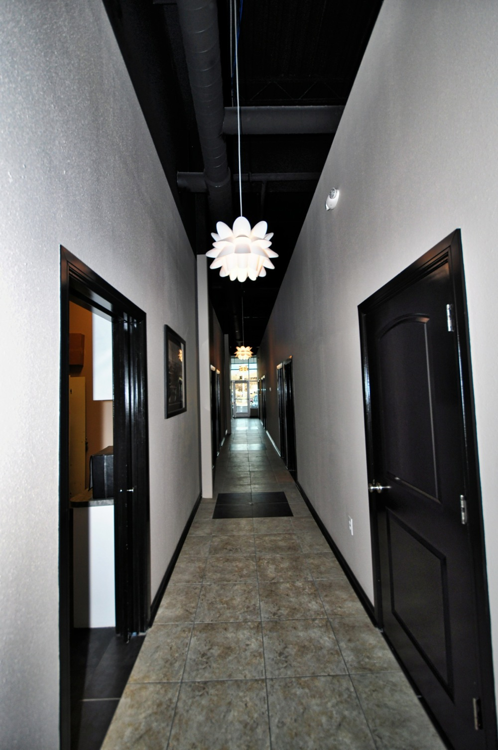 Lorenco's Interior - Hallway to Treatment Rooms
