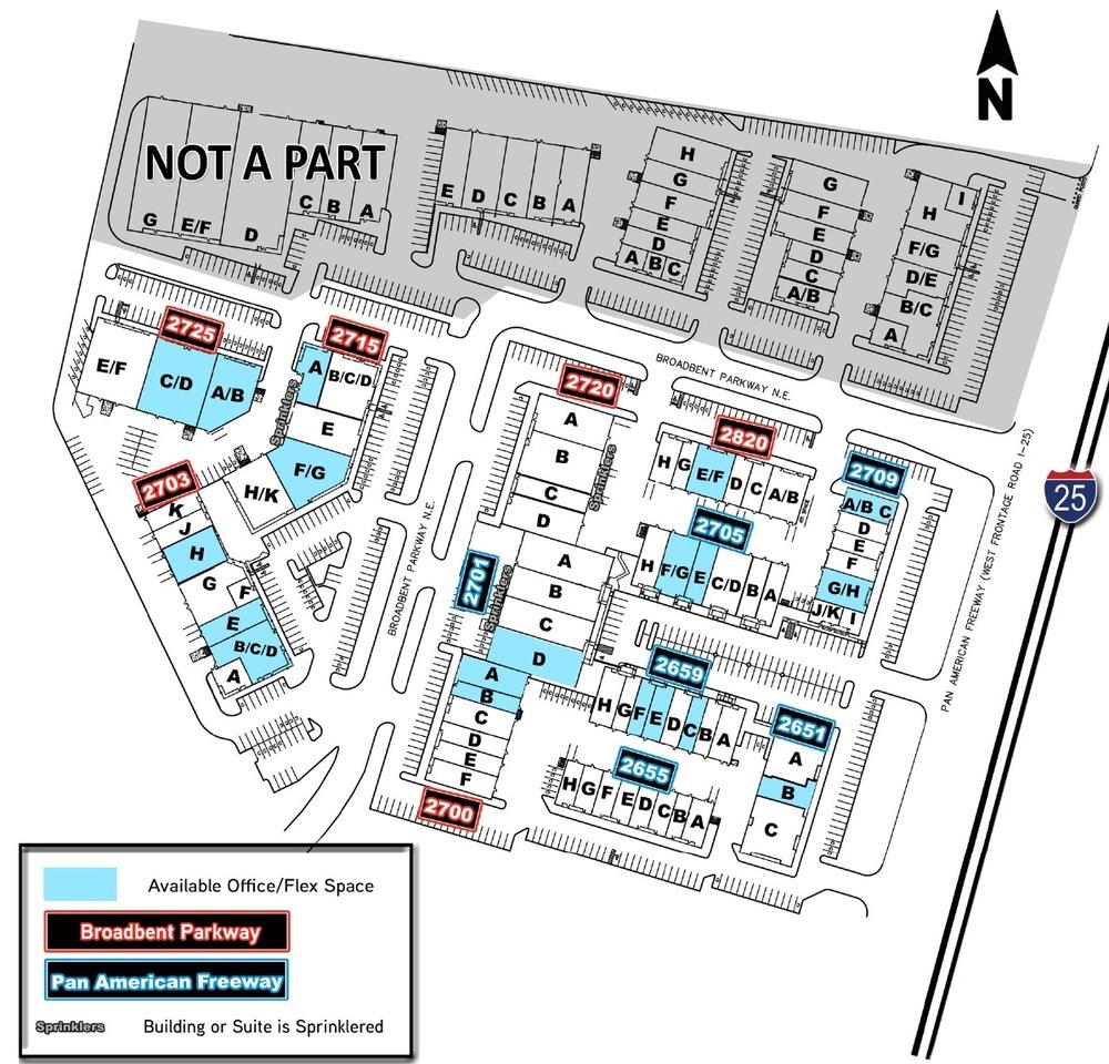 Broadbent Business Park Site Plan