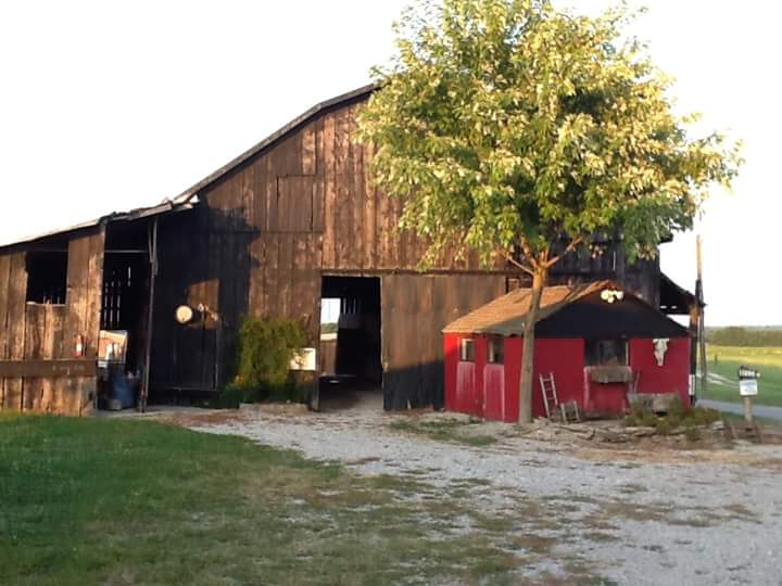 The Main Barn of the family farm...