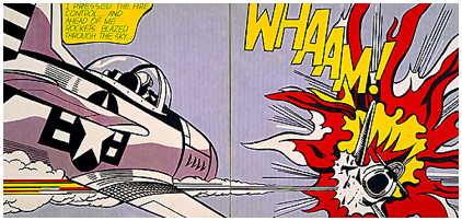 Whaam! by Lichtenstein