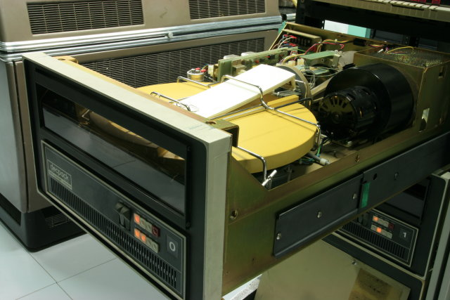 A typical Pertec disk drive
