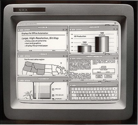 Xerox Star OS under interface