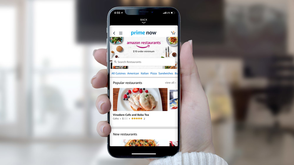 14. If you are hungry, use the app to order some food. It will be delivered to you in an hour, just like a hotel room service.
