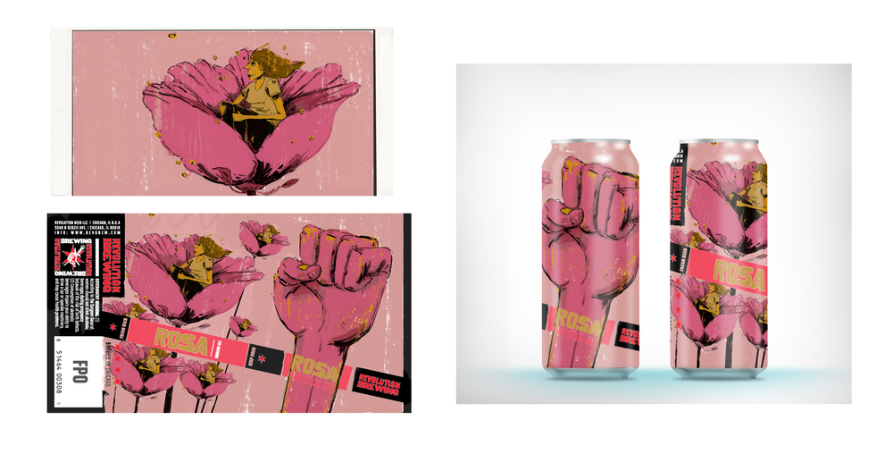 Rosa • Revolution Beer