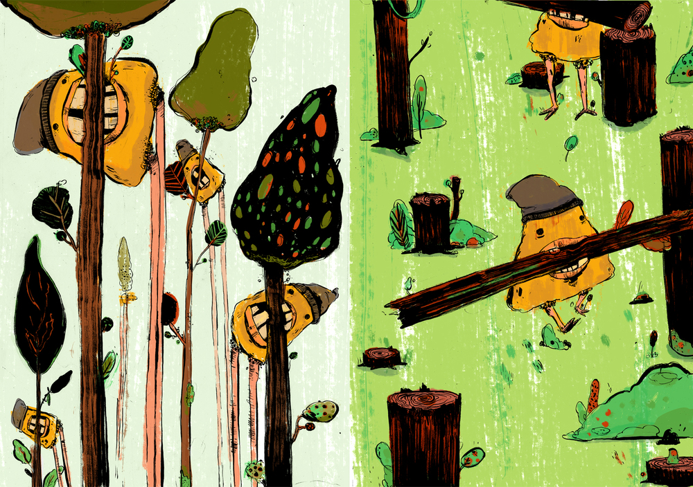Mundane Monsters• Lumberjacks