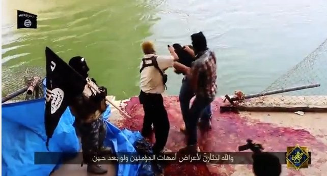 VIDEO - Islamic Caliphate Forces Butcher 1500 Iraqis - Reminiscent of Auschwitz and Treblinka!