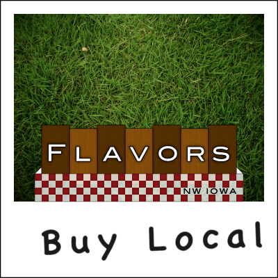 Flavors of Northwest Iowa (picnic table logo concept)