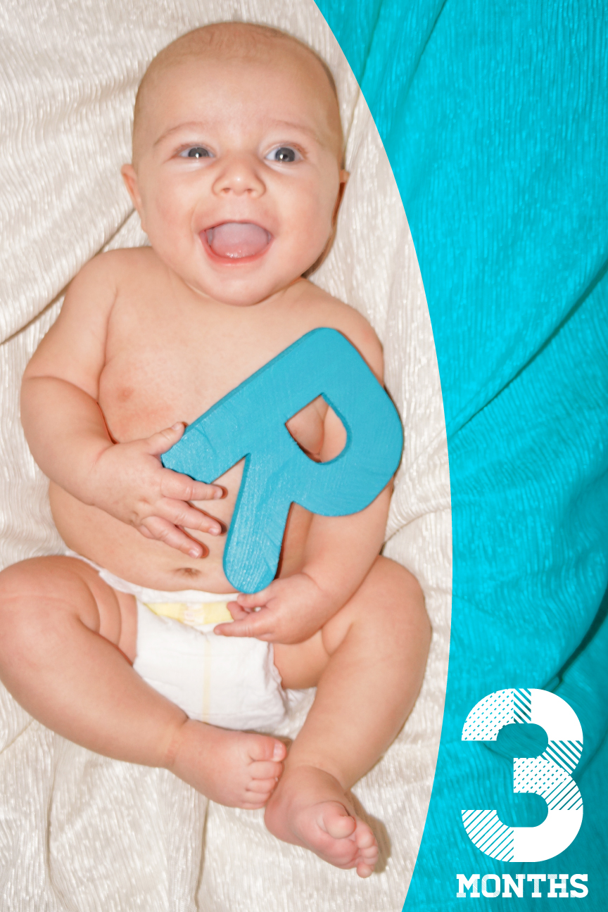 Ryker WIlliam Briggs - 3 Months