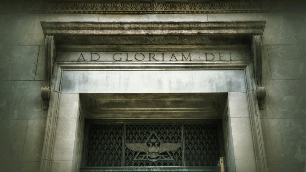 Scottish Rite Temple Entry - Ad Gloriam Dei