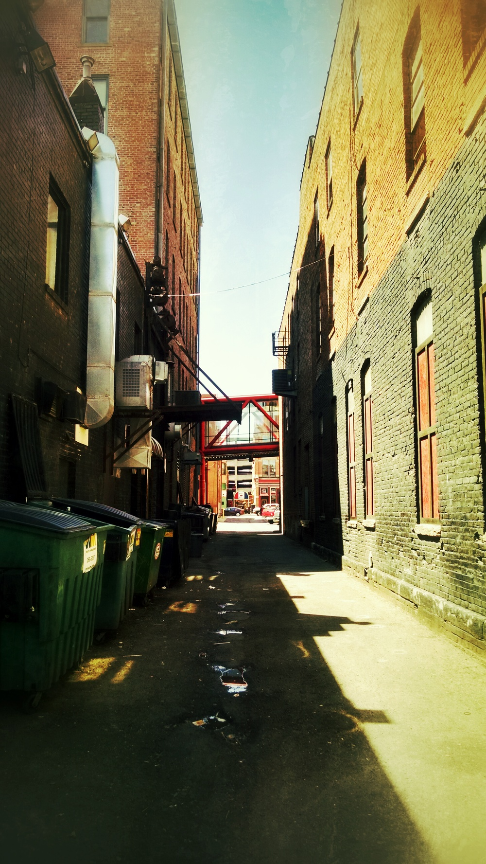Alleyway in Des Moines