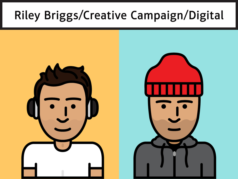 Everyone at work got to make avatars based on a styleguide by Cory Slifer. This is me in summer and winter variations.