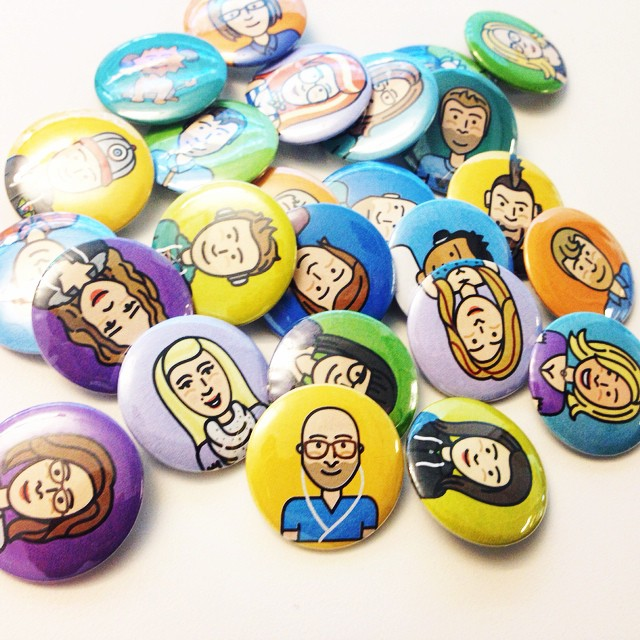 Buttons!  photo by  Brian Tallman