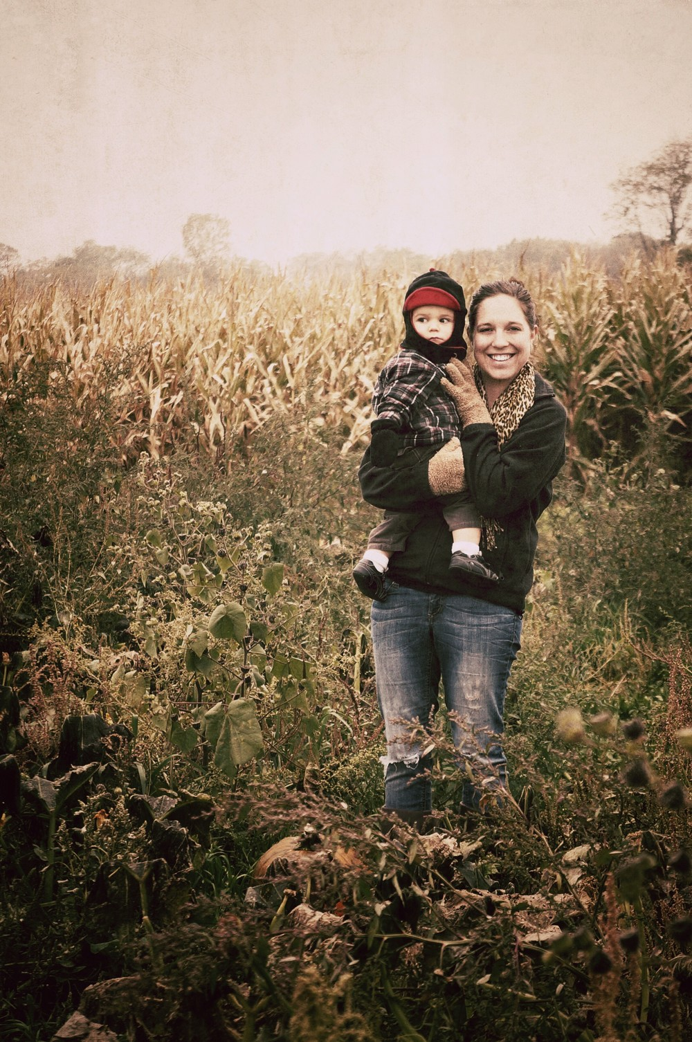 Ryker and mommy