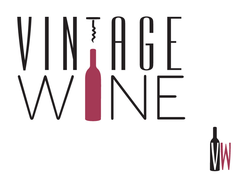 Vintage Wine logo concept #1