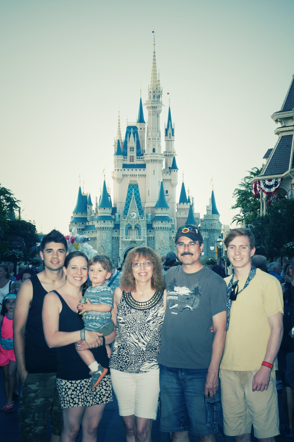 Magic Kingdom with the family