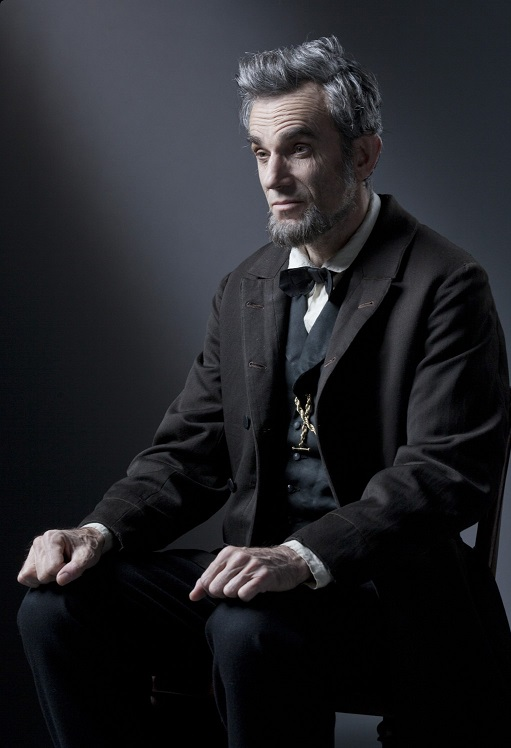 Daniel Day-Lewis som Lincoln.