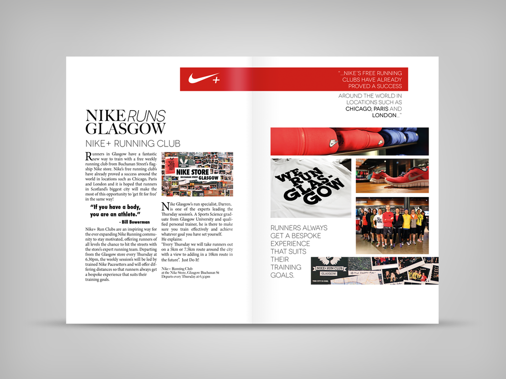 Nike Advertorial - Nike Store Photography