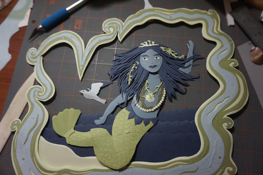 building a mermaid