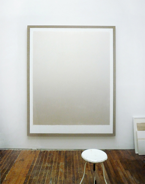 paul sunday, pearl on gesso and linen 64x80