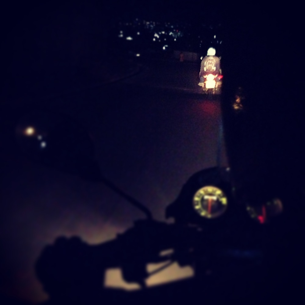 Night ridin' with Heather Miles.