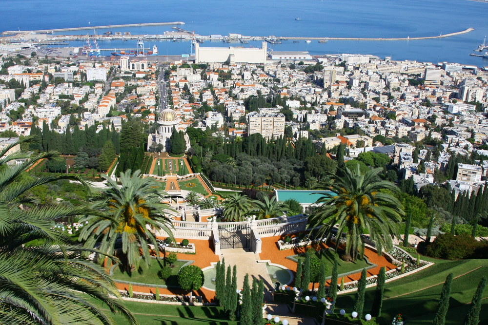 Overlook in Haifa