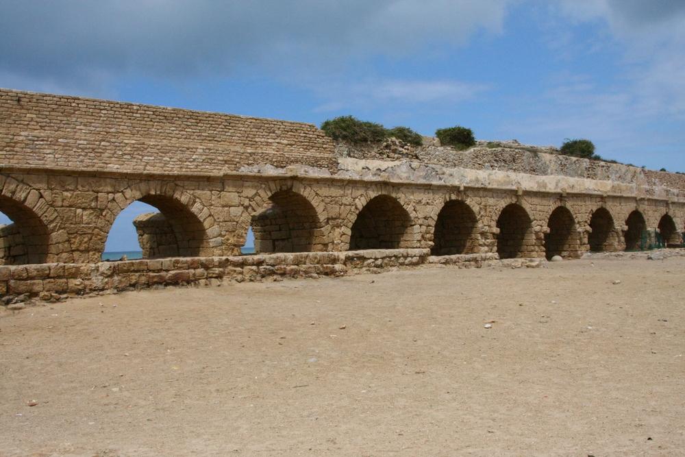 Aqueduct at Caesaria