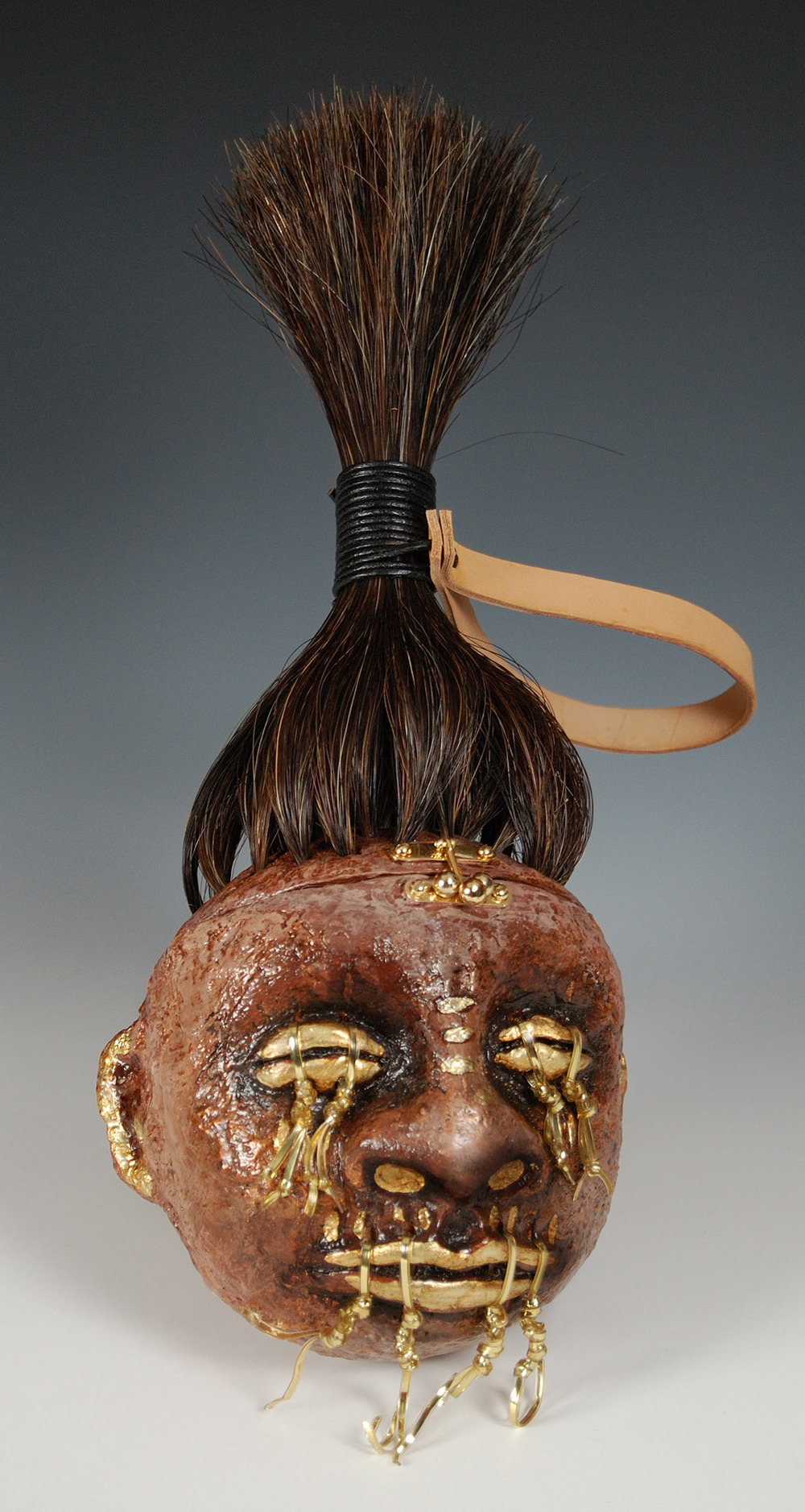 Shrunken Head Purse