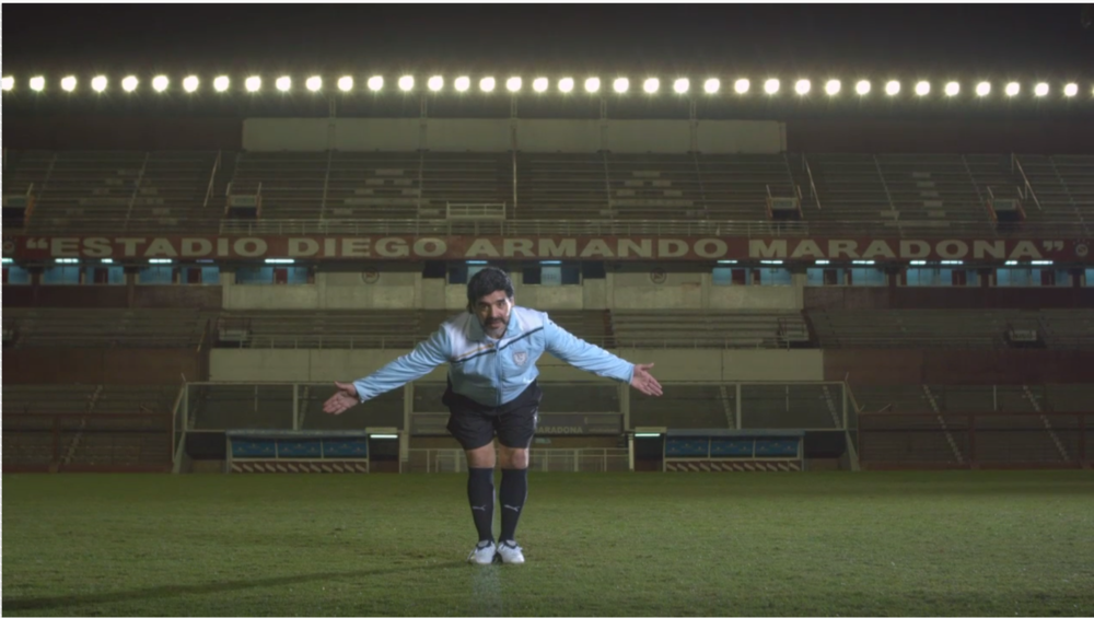 Puma  celebrates the 50th birthday of Diego Maradona, arguably the best football player of all time.