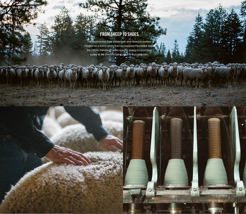 """Produced through Nike directly. Video and photos shot by Carissa and Andrew Gallo of Sea Chant. Basically the Oregonian dream job. Got to go on some production adventures out to a sheep rancher's summer fields in Pendleton, Oregon. The best!"" (Click on the image to view more.)"