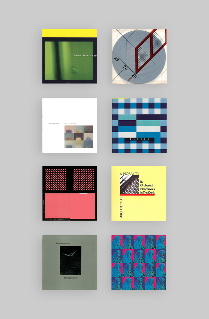 Inspiration: A collection of album covers by Peter Saville that blew my young brain