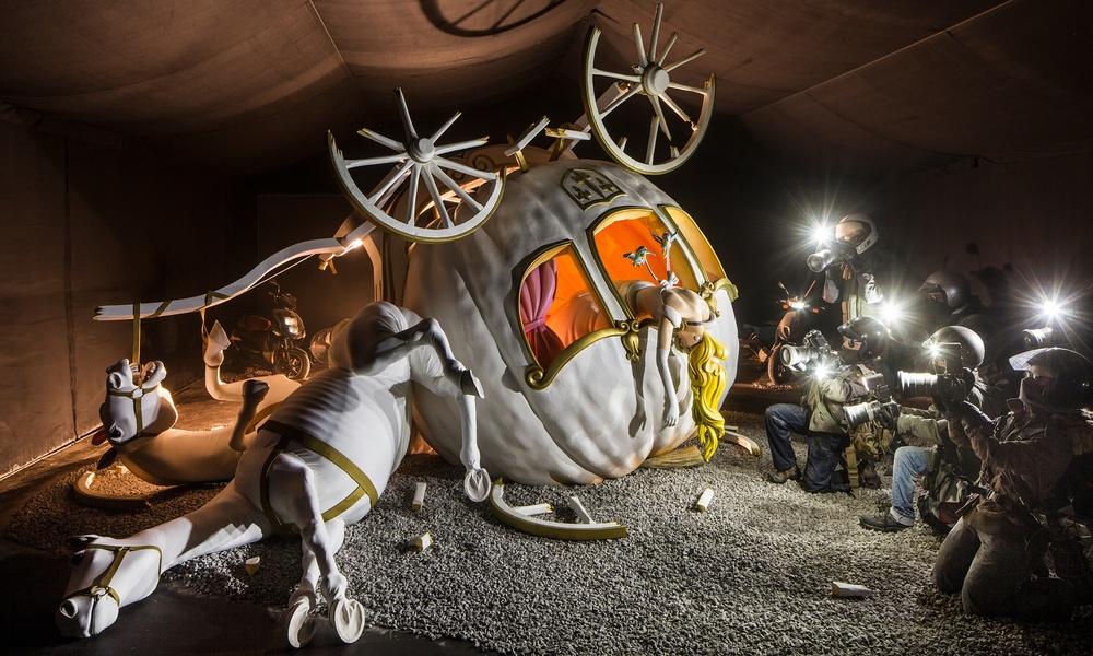 Banksy's Cinderella Installation