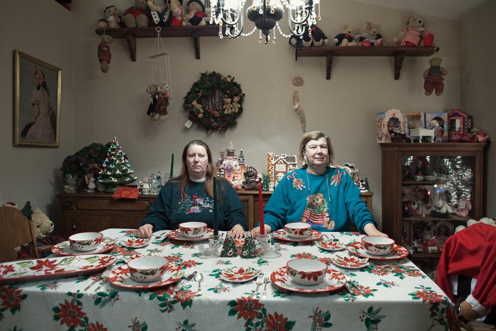 Wirschern Sisters' Christmas Dinner. Phoenix, AZ . 2011 Wirschern Residence