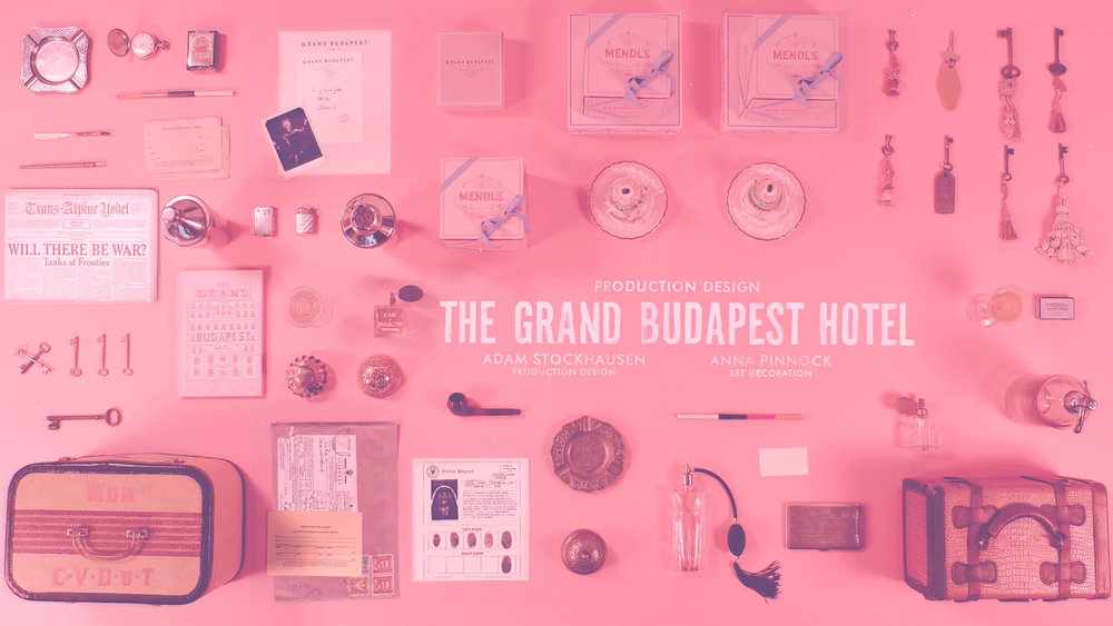 Henry Hobson for the Academy Awards - Grand Budapest Hotel Oscar for Best Production Design