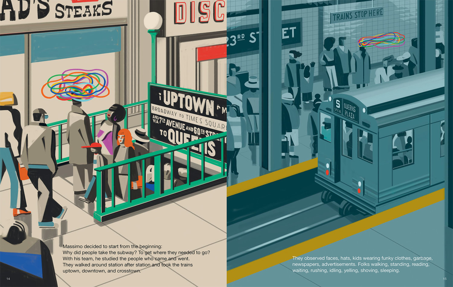 wnw magazine the great new york subway map introduces young readers to graphic design