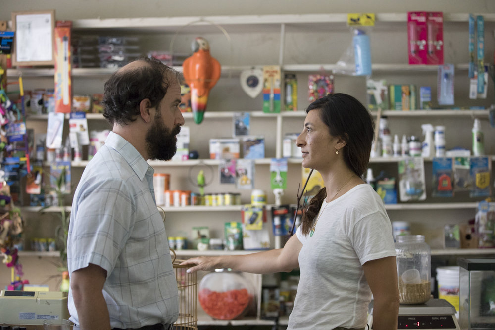 Brett Gelman and director Jessica Sanders