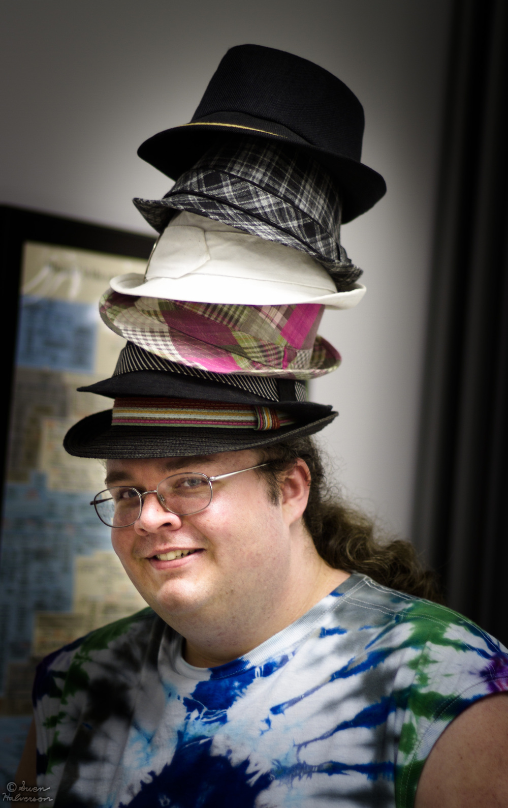 Theme: S <br>Title: Alex Swiger With Hats