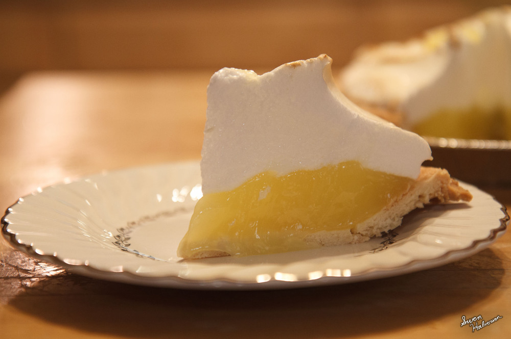 Theme: Pie Title: Lemon Meringue Piece 1