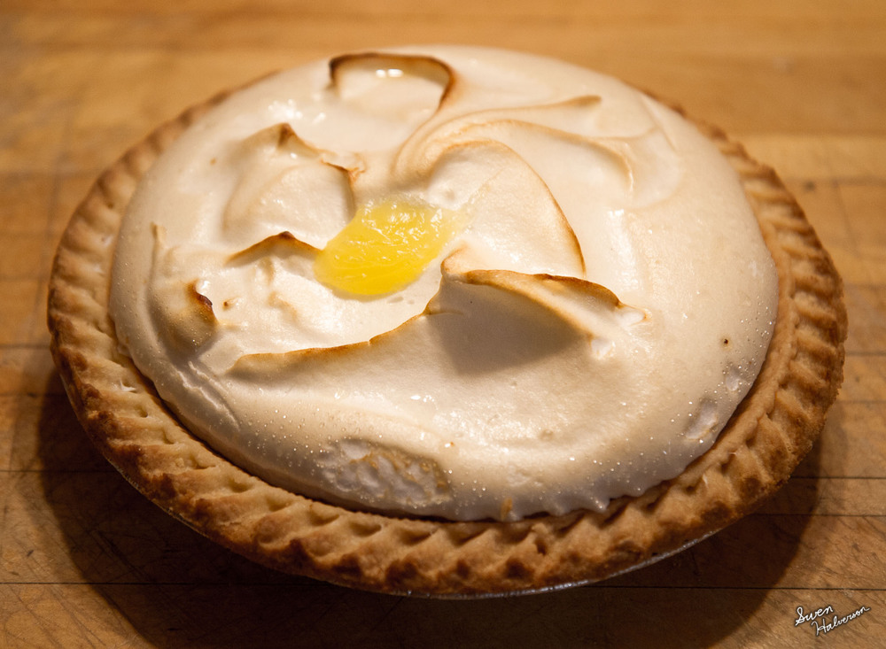 Theme: Pie Title: Lemon Meringue Pie