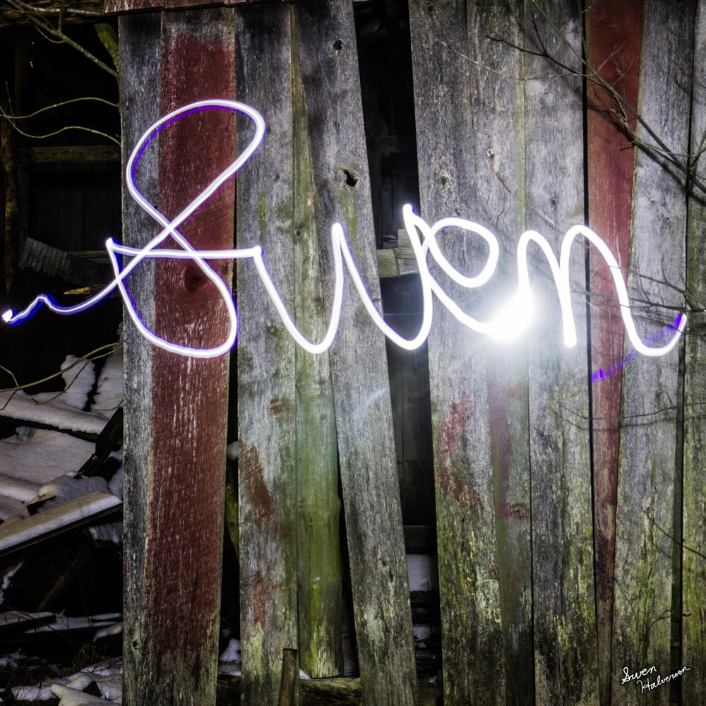 Theme: Light Painting Title: My Name Is...
