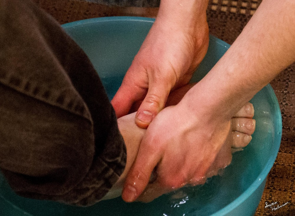 Theme: Connection | Title: Foot Washing