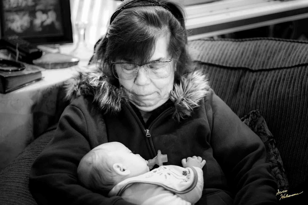 Theme: Cuddly | Title: Ezri & Her Great Grandma