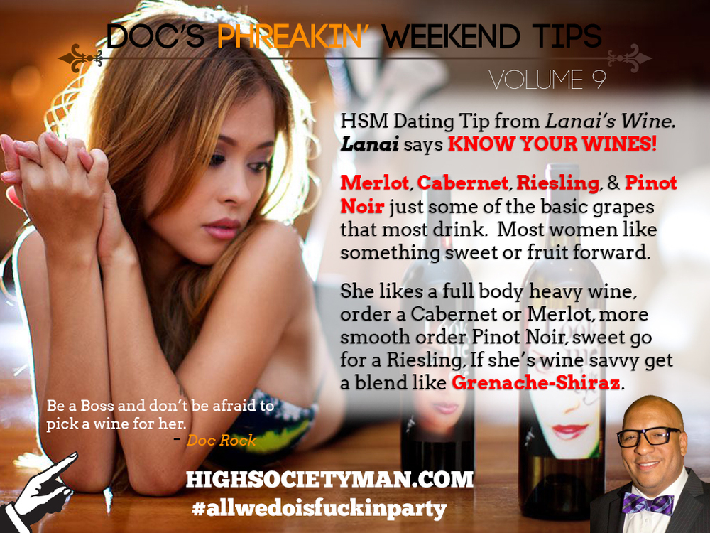 Doc's Phreakin' Weekend Tips V9