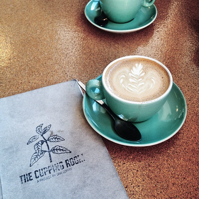 What I wouldn't give for a seasonal blend flat white from @thecuppingroom right now... A damn fine cup of coffee #humanbrochure.jpg