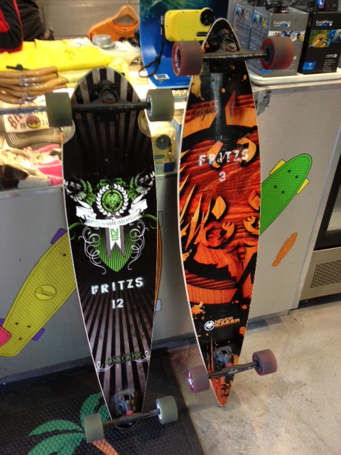 His and Hers Longboards