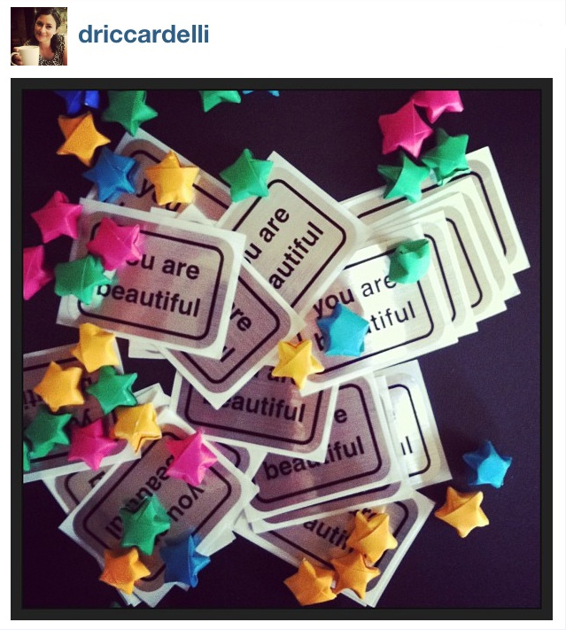 Just restocked my #youarebeautiful stickers! Ready to share the love! #raok