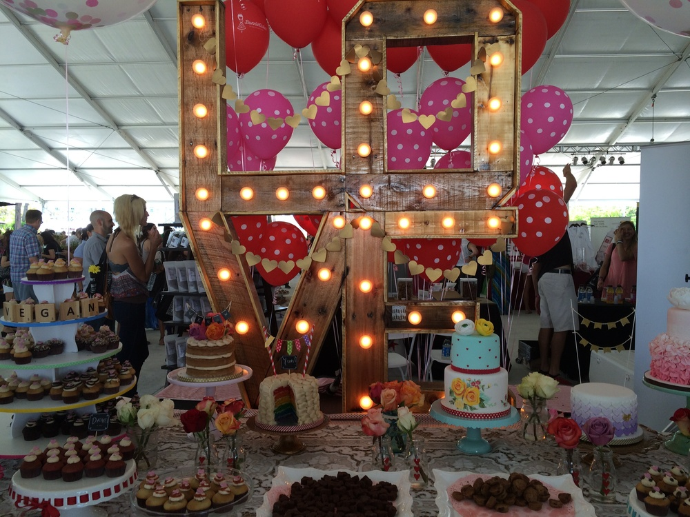 Cutest booth went to Bunnie Cakes.