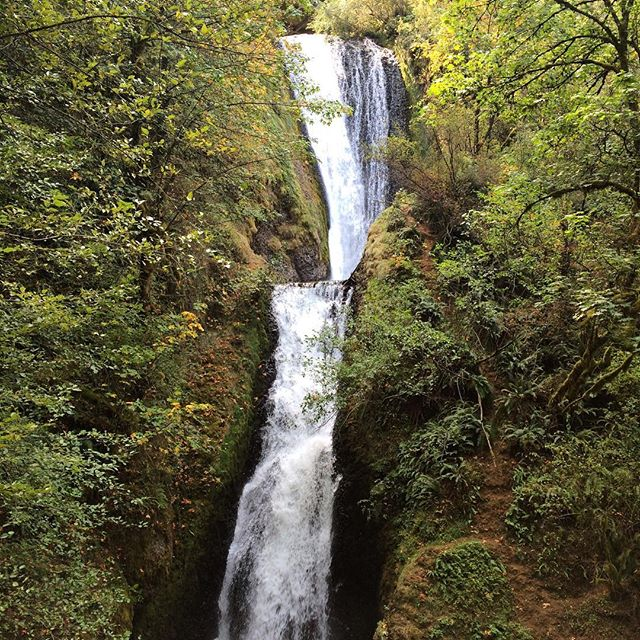 #TBT The magnificent waterfalls in Hood River, Oregon.
