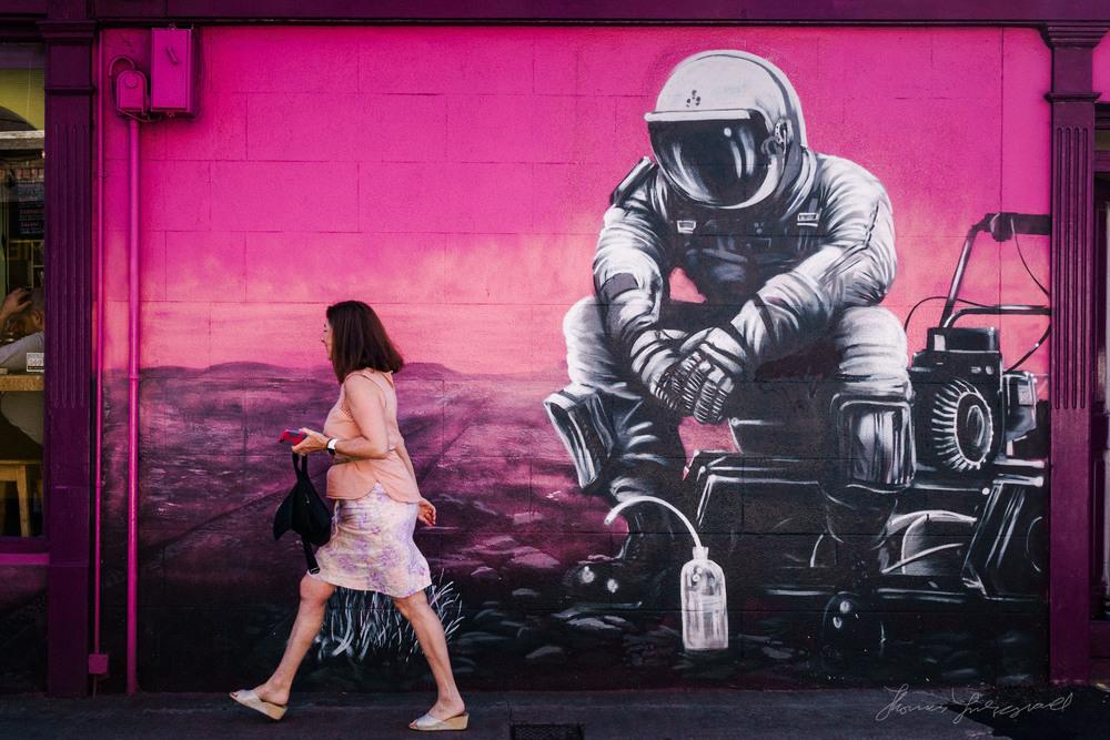 The Spaceman Mural - Ranelagh -Street Photo Diary Issue 19: Autumn In Dublin