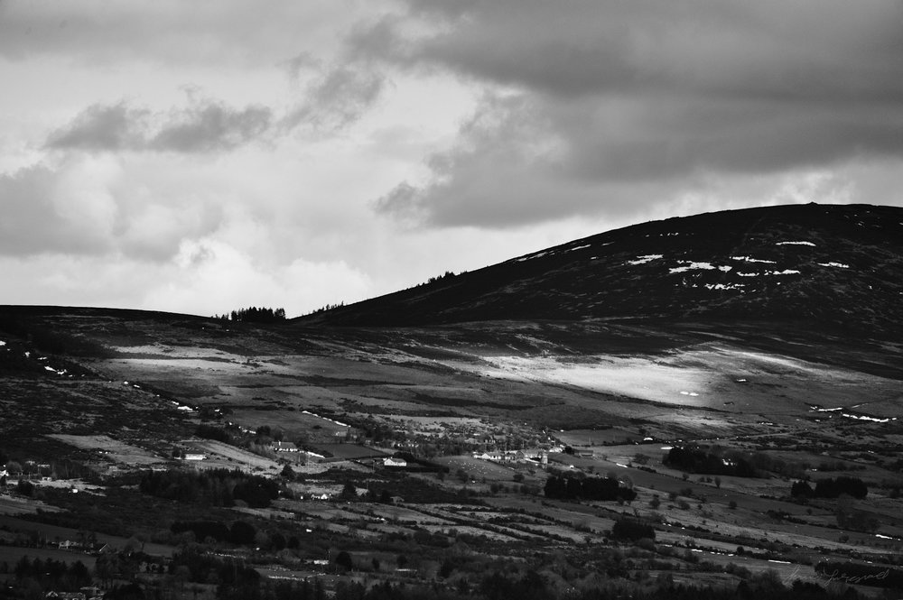 Wicklow Mountains Landscape